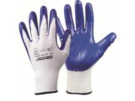 """Γάντια νιτριλίου με πολυεστερική πλέξη F.F.GROUP """"30011-3"""""""