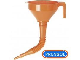 """Χωνί πλαστικό σπιράλ 160mm-1.2L PRESSOL """"14082"""""""