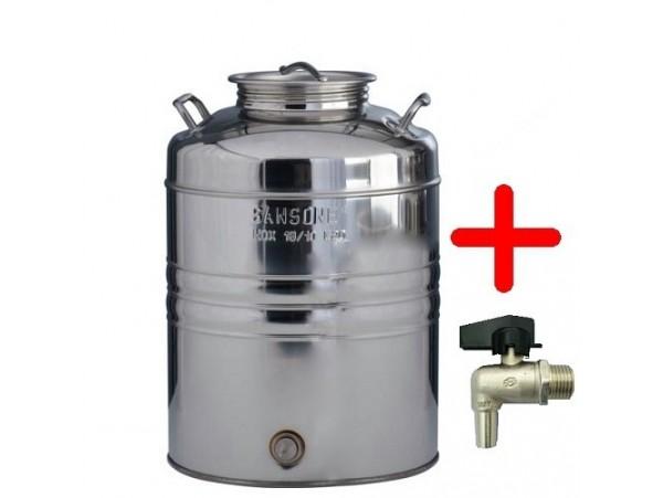 Δοχείο ανοξείδωτο sansone 10L