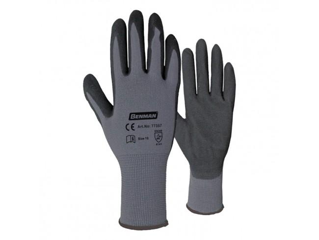 Γάντια εργασίας νιτριλίου BENMAN